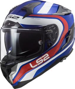 LS2 FF327 Challenger Fusion Motorcycle Helmet Blue Motorbike Crash Lids DVS