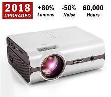 Crenova RAGU Z400 1600-Lumen Mini Portable Projector - Black
