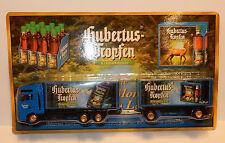 GRELL HO 1/87 CAMION REMORQUE TRUCK TRAILER MAN TGA LIQUEUR HUBERTUS GERMAN BEER