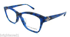 Authentic BVLGARI Blue Marble Eyeglass Rx Frame BV 4080BF - 5288 *NEW*  53mm