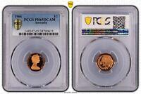 1966 Australian 1c One Cent, DCAM (Proof) PR65DCAM