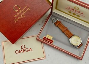 C.1956 Vintage Omega Seamaster Ranchero 36mm watch ref. CK 2937-4 in steel w/box
