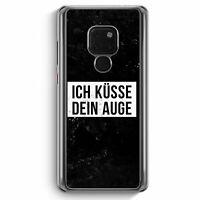 Ich Küsse Dein Auge Huawei Mate 20 Hülle Motiv Design Cool Witzig Lustig Spru...