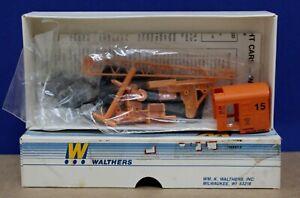 Walthers 932-5610 HO 25 Ton Crane Vulcan Steel #15 Kit Limited Edition NIB