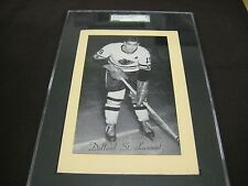 RARE 1945-64 BEEHIVE GROUP 2 BLACKHAWKS DOLLARD ST. LAURENT SGC GRADED