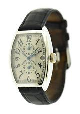 Franck Muller Master Banker 18K White Gold Watch 5850 MB