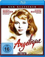 Blu Ray - Angelique - Die Komplette Filmreihe  [5 Disc Box] Angélique - NEU