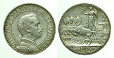pci0155) Vittorio Emanuele III Lire 2 Quadriga veloce 1912