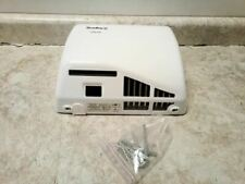 Bradley 2902-287300 100-120V White Wall Mount Automatic Hand Dryer