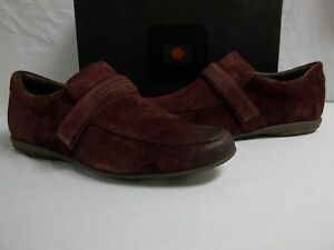 Tsubo Size 11 M Ossian Oxblood Leather Loafers New Mens Shoes