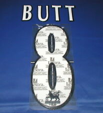 Lextra 97-06 Manchester United  ' BUTT 8  '  EPL Player Issue Shirt Name Set