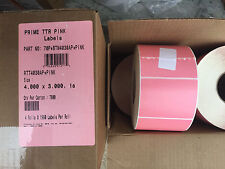 """(1/2 roll) PINK 950 Labels 4"""" X 3"""" - great for Crafts, Office use-w/Sharpies"""