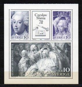 Schweden 1991 Michel 1688-1690 als H-Blatt 191 ungebraucht (F19)