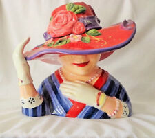 Check it out Red Hat Society, Susan Winget Cookie Jar