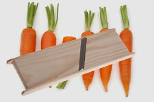 Wooden Stainless Steel Grater for making of Korean Carrot TRACK NUMBER!