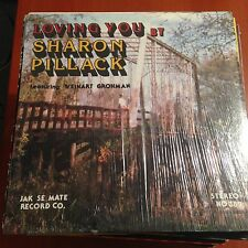 Sharon Pillack-Loving You-LP-Jak Se Mate-Shrink-Vinyl Record-VG+