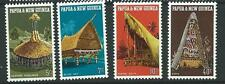 PAPUA NEW GUINEA SG191/4 1971 NATIVE DWELLING MNH