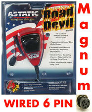 Astatic RD104E Noise Canceling Microphone wired for 6-Pin Magnum Radios Duracell