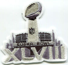 NFL CHAMPIONSHIP SUPER BOWL XLVII SUPERBOWL SB48 JERSEY INSIGNIA IRON-ON PATCH a
