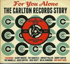FOR YOU ALONE THE CARLTON RECORDS STORY 1958 - 1962 - 3 CD BOX SET