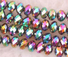 4x6mm Multicolor Swarovski Crystal Gem Loose Bead 500pcs
