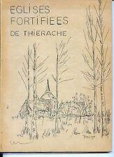 EGLISES FORTIFIEES DE THIERACHE - Tapuscrit Pol Verschaeren Wimy 1975 - Aisne 02