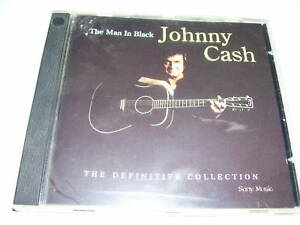 Johnny Cash - The man in black the definitive collectio