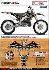 Rockwell  Motocross Graphics Honda CRF 450 2002-2004 Dirt Bike Graphics kit