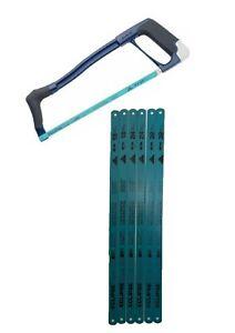 "Eclipse 70-22TR 12"" / 300mm hacksaw + 6 x Hacksaw Blades 18, 24, 32 TPI"