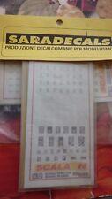 SARADECALS T028 decals CARTELLI CLASSE, FUMATORI, DI LINEA FS