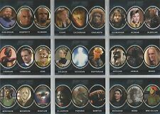 """Complete Star Trek TNG S1 - """"Alien"""" Set Of 13 Chase Cards #A1-13"""