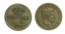pci2622) Napoli Regno delle Due Sicilie Ferdinando II - 2 Tornesi 1858