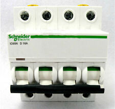 New Schneider small IC65N 4P D16A air circuit breaker switch