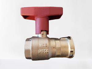 ISO-T Pumpenkugelhahn mit und ohne Schwerkraftbremse Kugelhahn Heizung Pumpe