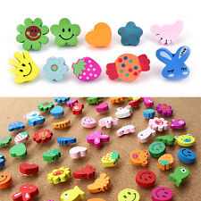 50xMulti-Coloured Cartoon Assorted Push Pins Drawing Cork Board Office Supply GT