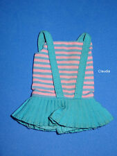 Vintage Barbie Tnt Skipper #1105 Twist ´N Turn Swimsuit Nice Condition Htf