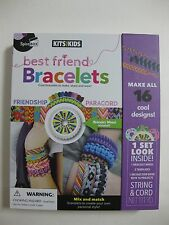 Kits For Kids Best Friend Bracelets w/ Wheel included Factory Sealed