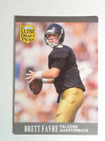 1991 Fleer Ultra #283 Brett Favre Draft Picks Rookie Football Falcons RC HOF