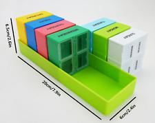 7 Day Pill Box Week Case AM PM Travel Pill Medicine Organizer Case Dispenser Med