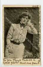 (Ga7710-100) Miss Violet Branbrugh, Theatre Actress 1903 Used G-VG