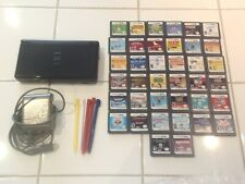 Nintendo DS Lite Lot Bundle 38 games charger extra stylus TESTED Lego Star Wars