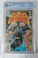 Batman & The Outsiders #1 CBCS Graded 9.6 1983 DC Comics Key Comic Not CGC