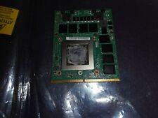Dell Precision M6800 nVIDIA Quadro K4100M 4GB GDD R5 // N15E-Q3 X8T6N