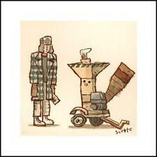 Scott C Campbell - FARGO Woodchipper limited edition SIGNED print MONDO artist!
