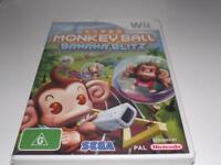 Super Monkey Ball Banana Blitz Nintendo Wii PAL *Brand New* Wii U Compatible