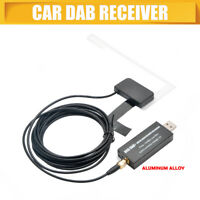 USB Ricevitore DAB DAB+ Autoradio Android Car Radio Digitale Decoder Antenna Kit