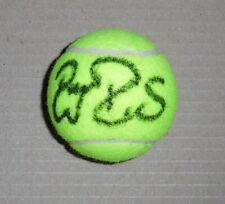 Roger Federer RARE HAND SIGNED TENNIS BALL WITH COA AUTOGRAPH
