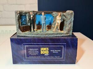 Corgi Icon James Bond Diorama F04101 Lair  with Dr.No,Sean Connery&Honey figures