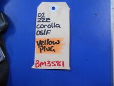 RHF SEAT BELT To Suit 2002 - 2007 ZZE122 TOYOTA COROLLA S/N BM3581