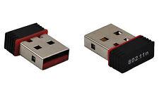 Mini USB 150M Wireless 802.11B/G/N LAN Card WiFi Network Adapter Antenna For PC